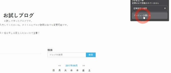 Seesaaブログ(シーサーブログ)無料ブログ新規登録・記事投稿方法12