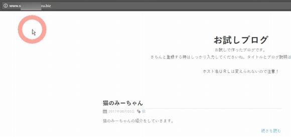 Seesaaブログ(無料シーサーブログ)に独自ドメインを設定する方法16