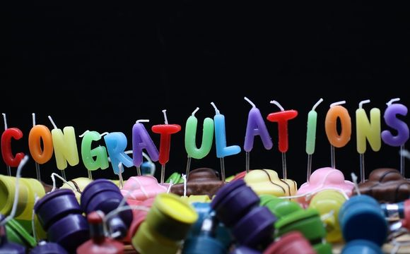 congratulations(おめでとう)