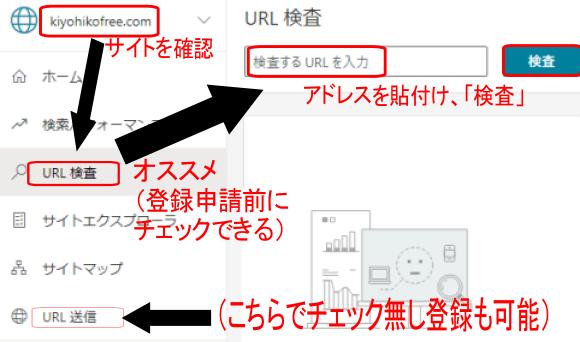 BingウェブマスターツールのURL検査とURL送信